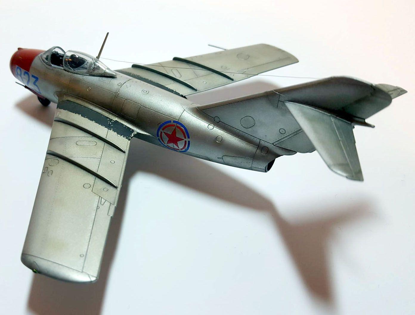 MiG-15 - 1/72 - Eduard 7057  - BLIMPS COMÉRCIO ELETRÔNICO