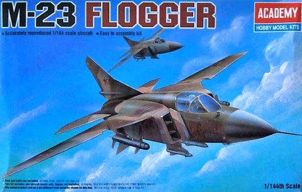 MiG-23 Flogger - 1/144 - Academy 12614  - BLIMPS COMÉRCIO ELETRÔNICO