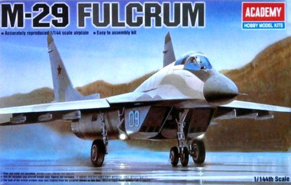 MiG-29 Fulcrum - 1/144 - Academy 12615  - BLIMPS COMÉRCIO ELETRÔNICO