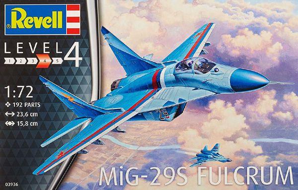 MiG-29S Fulcrum - 1/72 - Revell 03936  - BLIMPS COMÉRCIO ELETRÔNICO