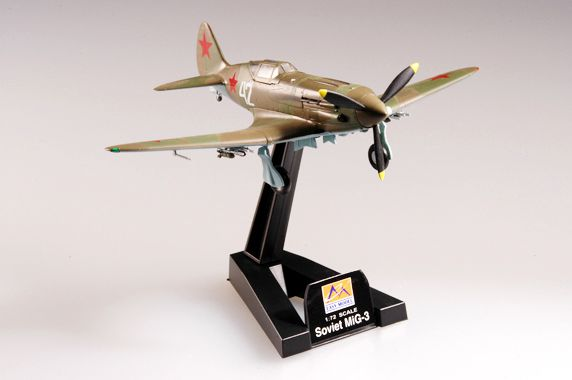 MiG-3 - 1/72 - Easy Model 37223  - BLIMPS COMÉRCIO ELETRÔNICO