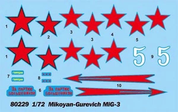 MIG-3 - 1/72 - HobbyBoss 80229  - BLIMPS COMÉRCIO ELETRÔNICO