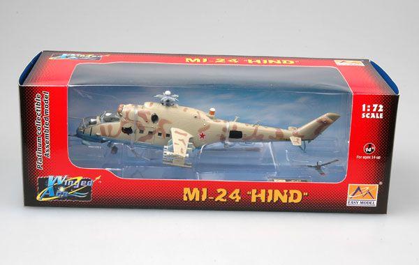 Mil Mi-24 Hind - 1/72 - Easy Model 37035  - BLIMPS COMÉRCIO ELETRÔNICO