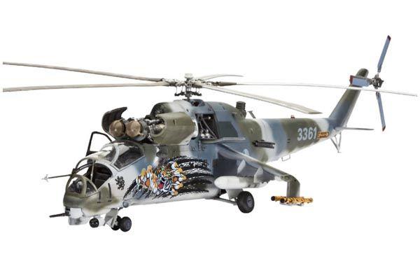 Mil Mi-24V Hind E - 1/72 - Revell 04839  - BLIMPS COMÉRCIO ELETRÔNICO