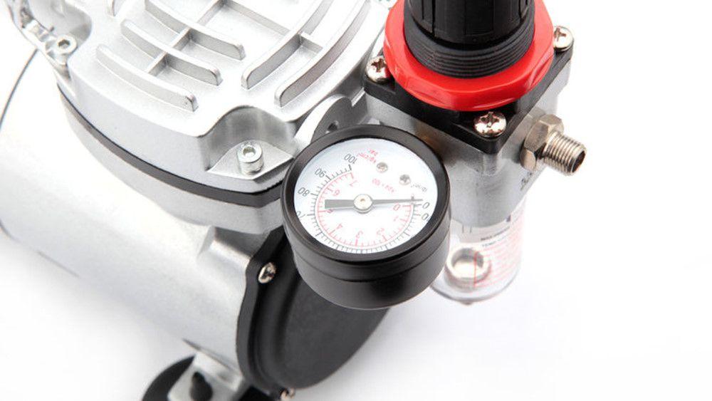 Minicompressor de ar bivolt - Fengda AS18-2  - BLIMPS COMÉRCIO ELETRÔNICO