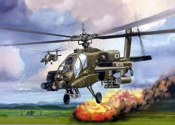 Minikit AH-64 Apache - Revell 06704  - BLIMPS COMÉRCIO ELETRÔNICO