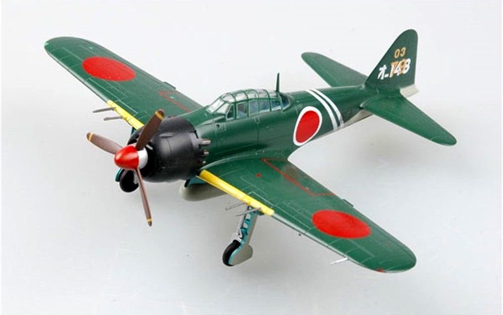 Mitsubishi A6M Zero - 1/72 - Easy Model 36350  - BLIMPS COMÉRCIO ELETRÔNICO