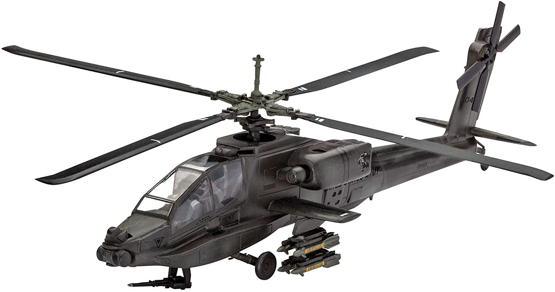 Model Set AH-64A Apache - 1/100 - Revell 64985  - BLIMPS COMÉRCIO ELETRÔNICO
