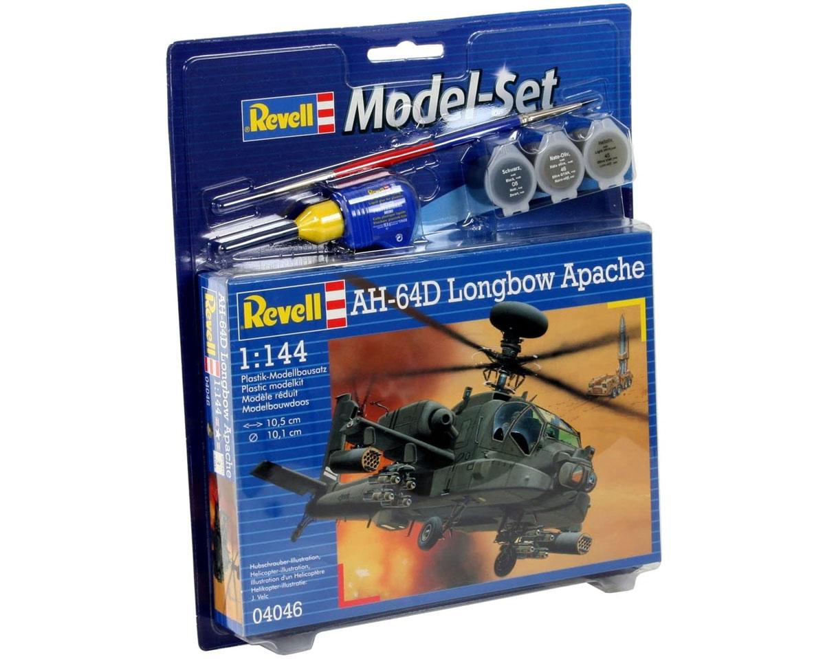 Model-Set AH-64D Longbow Apache - 1/144 - Revell 64046  - BLIMPS COMÉRCIO ELETRÔNICO