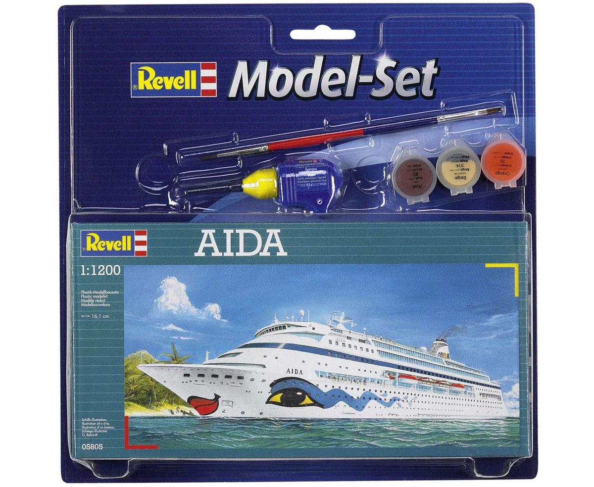 Model-Set AIDA - 1/1200 - Revell 65805  - BLIMPS COMÉRCIO ELETRÔNICO