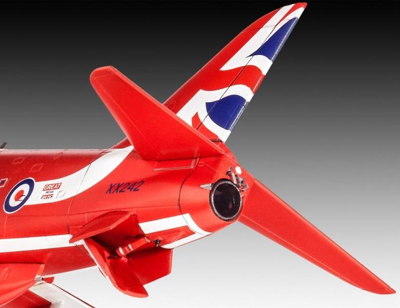 Model Set BAe Hawk T.1 Red Arrows - 1/72 - Revell 64921  - BLIMPS COMÉRCIO ELETRÔNICO