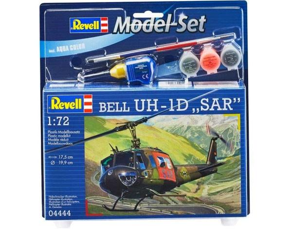 Model-Set Bell UH-1D ´SAR´ - 1/72 - Revell 64444  - BLIMPS COMÉRCIO ELETRÔNICO