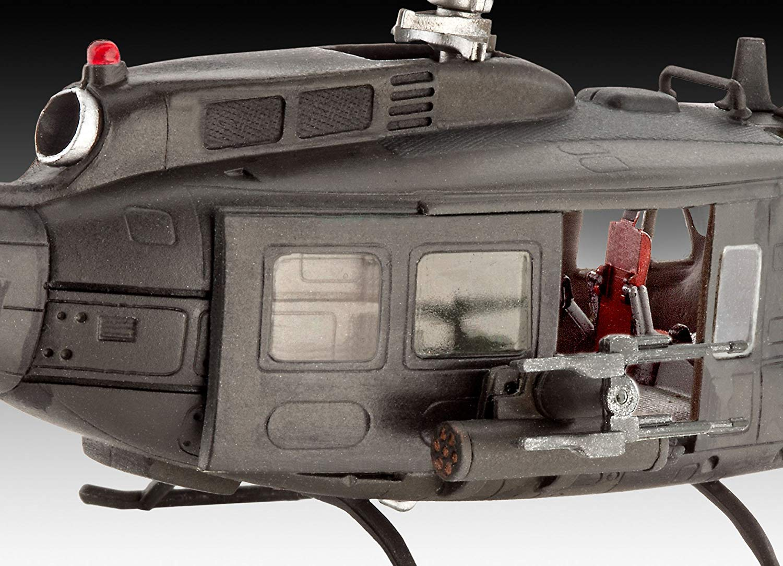 Model Set Bell UH-1H Gunship - 1/100 - Revell 64983  - BLIMPS COMÉRCIO ELETRÔNICO
