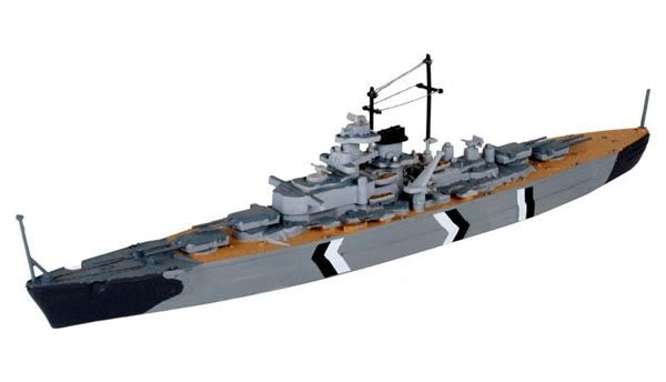 Model-Set Bismarck - 1/1200 - Revell 65802  - BLIMPS COMÉRCIO ELETRÔNICO