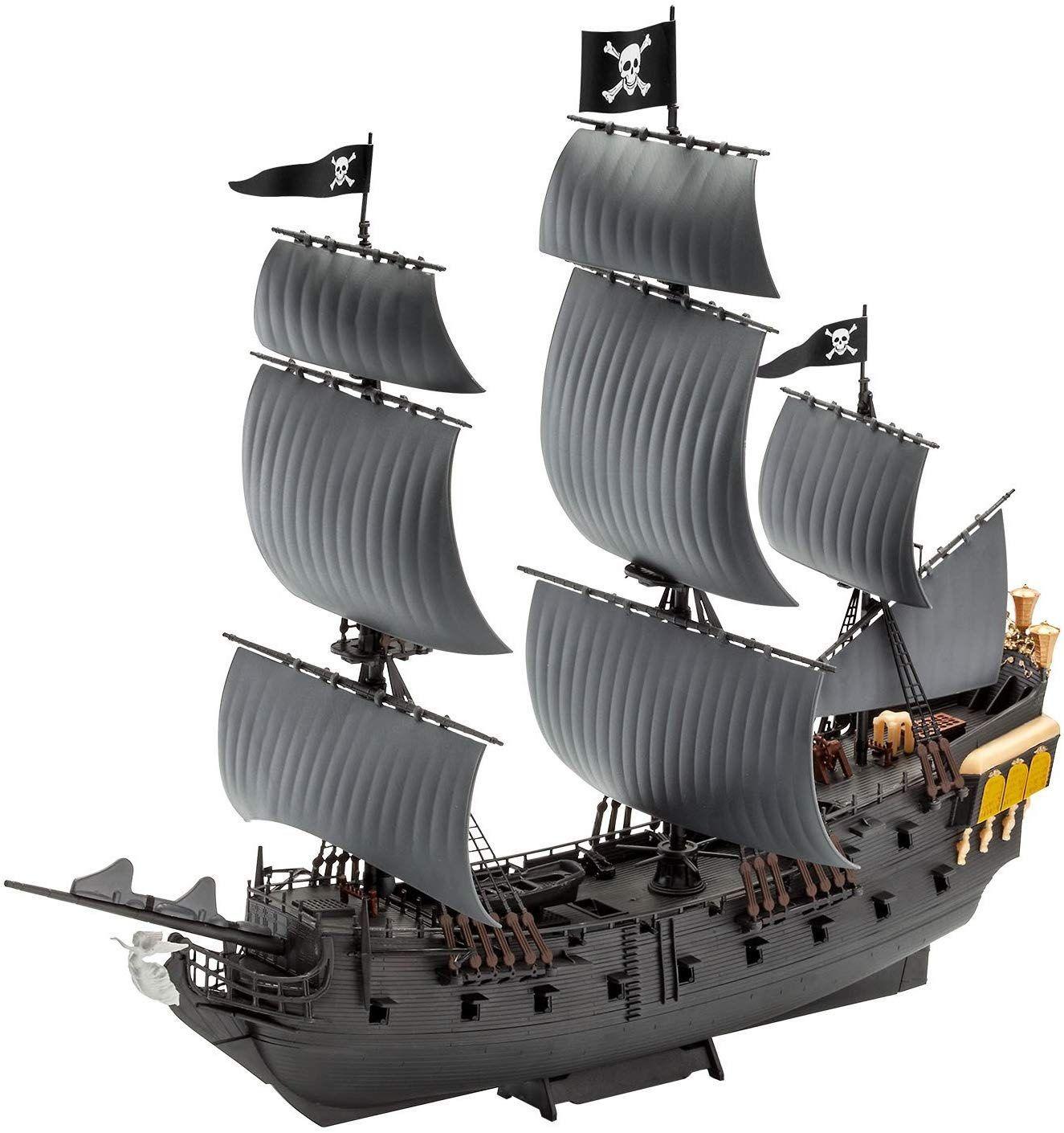 Model Set Black Pearl easy-click - 1/150 - Revell 65499  - BLIMPS COMÉRCIO ELETRÔNICO