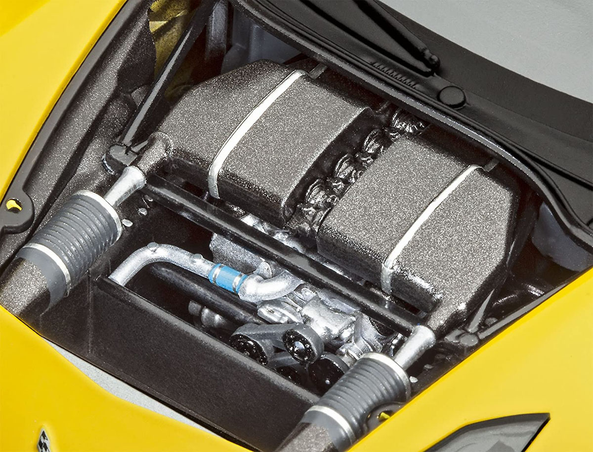 Model Set Corvette C7.R - 1/25 - Revell 67036  - BLIMPS COMÉRCIO ELETRÔNICO