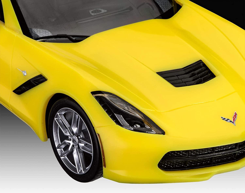 Model Set Corvette Stingray 2014 - 1/25 - Revell 67449  - BLIMPS COMÉRCIO ELETRÔNICO