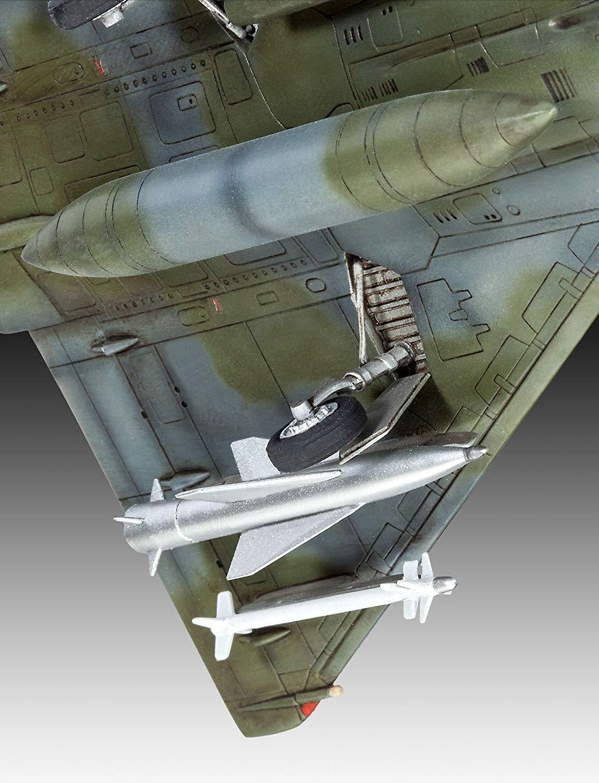 Model-Set Dassault Mirage 2000D - 1/72 - Revell 64893  - BLIMPS COMÉRCIO ELETRÔNICO