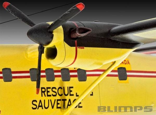 Model-Set DHC-6 Twin Otter - 1/72 - Revell 64901  - BLIMPS COMÉRCIO ELETRÔNICO