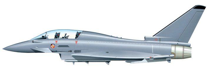 Model Set EF-2000 Typhoon - 1/72 - Italeri 72001  - BLIMPS COMÉRCIO ELETRÔNICO