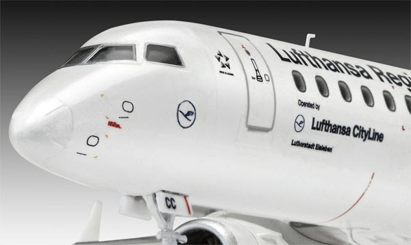 Model Set Embraer 190 Lufthansa - 1/144 - Revell 63937  - BLIMPS COMÉRCIO ELETRÔNICO
