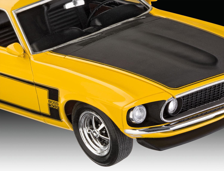Model Set Ford Mustang Boss 302 1969 - 1/25 - Revell 67025  - BLIMPS COMÉRCIO ELETRÔNICO