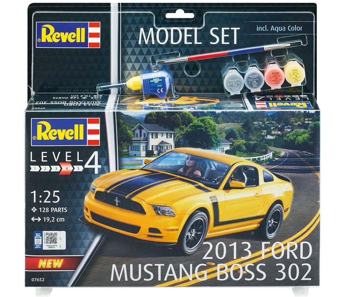 Model Set Ford Mustang Boss 302 2013 - 1/25 - Revell 67652  - BLIMPS COMÉRCIO ELETRÔNICO