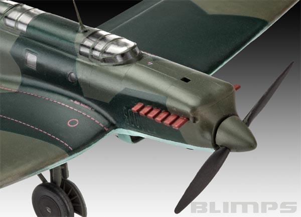 Model Set Heinkel He70 F-2 - 1/72 - Revell 63962  - BLIMPS COMÉRCIO ELETRÔNICO