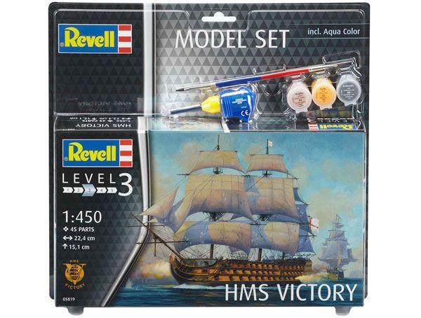 Model Set HMS Victory - 1/450 - Revell 65819  - BLIMPS COMÉRCIO ELETRÔNICO