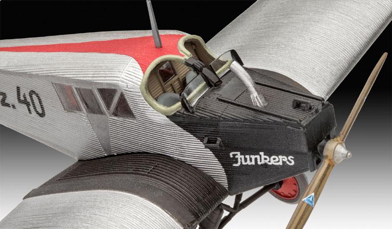 Model Set Junkers F.13 - 1/72 - Revell 63870  - BLIMPS COMÉRCIO ELETRÔNICO
