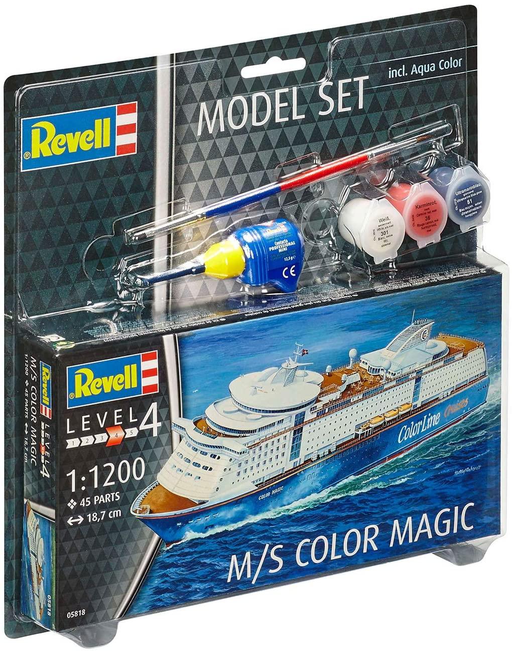 Model Set M/S Color Magic - 1/1200 - Revell 65818  - BLIMPS COMÉRCIO ELETRÔNICO
