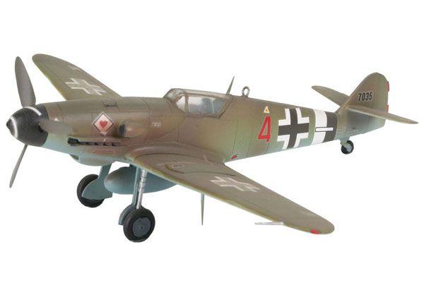 Model-Set Messerschmitt Bf 109 G-10 - 1/72 - Revell 64160  - BLIMPS COMÉRCIO ELETRÔNICO