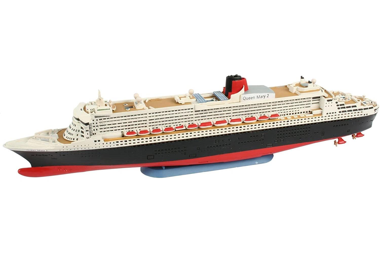 Model-Set Ocean Liner Queen Mary 2 - 1/1200 - Revell 65808  - BLIMPS COMÉRCIO ELETRÔNICO