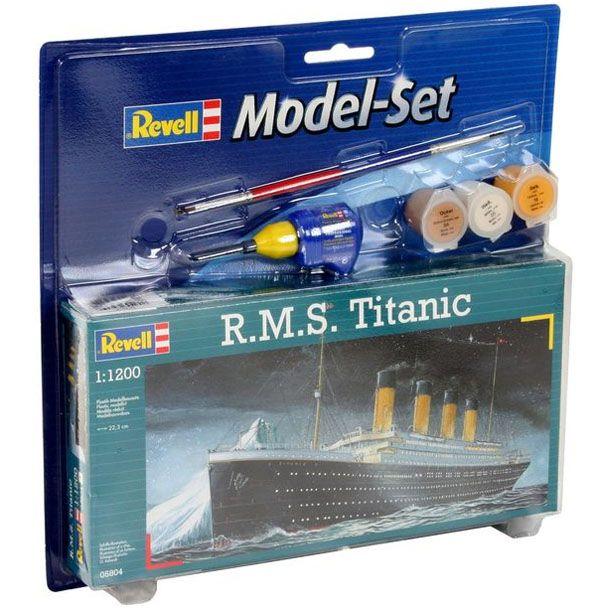 Model-Set R.M.S. Titanic - 1/1200 - Revell 65804  - BLIMPS COMÉRCIO ELETRÔNICO