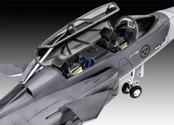 Model Set Saab JAS-39D Gripen - 1/72 - Revell 63956  - BLIMPS COMÉRCIO ELETRÔNICO