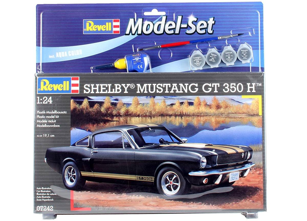 Model-Set Shelby Mustang GT 350 H - 1/24 - Revell 67242  - BLIMPS COMÉRCIO ELETRÔNICO