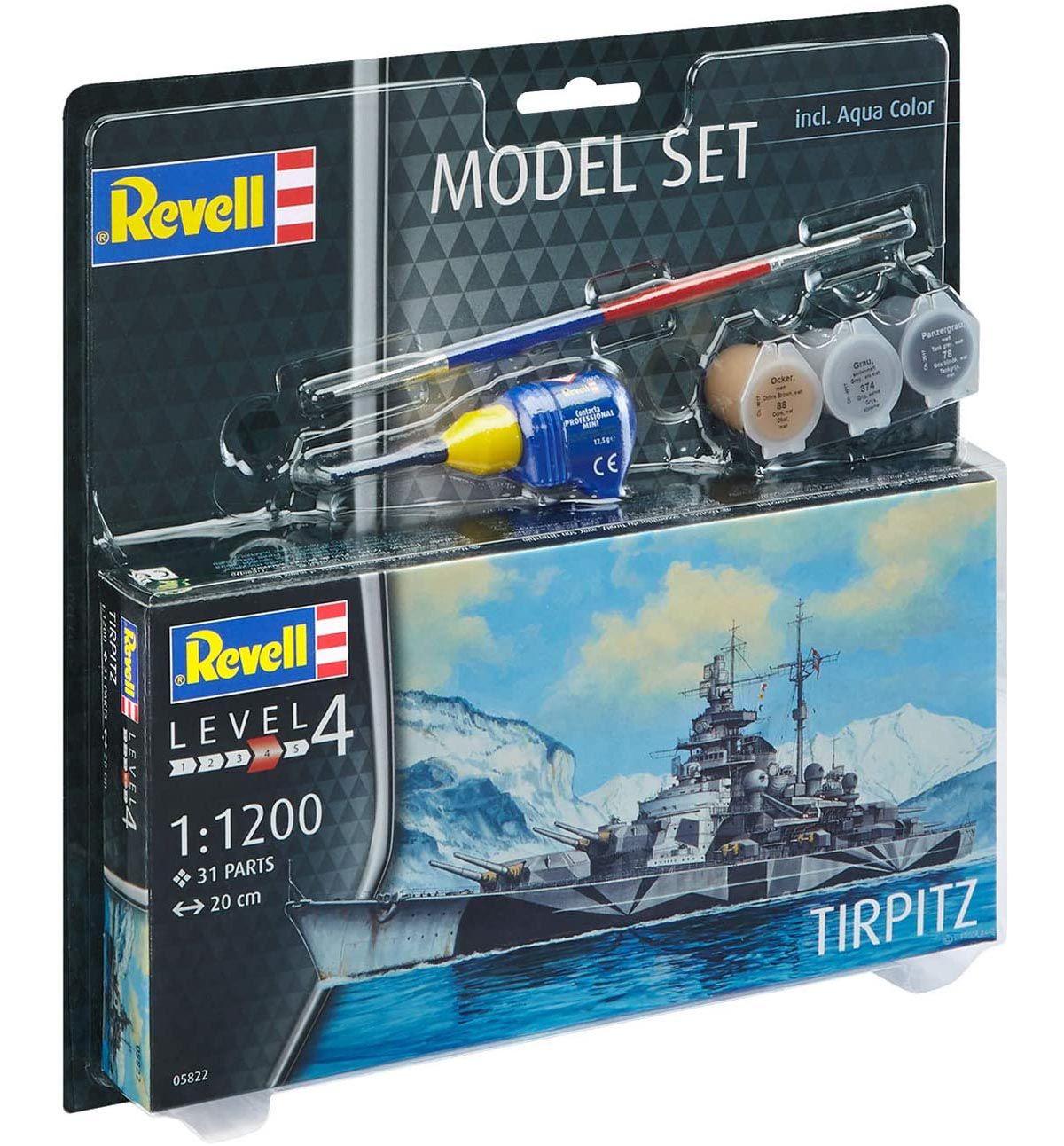 Model Set Tirpitz - 1/1200 - Revell 65822  - BLIMPS COMÉRCIO ELETRÔNICO
