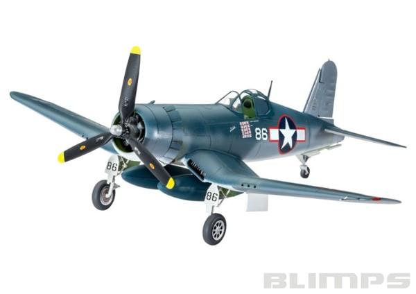 Model-Set Vought F4U-1A Corsair - 1/72 - Revell 63983  - BLIMPS COMÉRCIO ELETRÔNICO