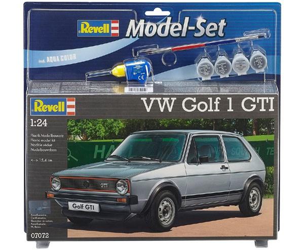 Model-Set VW Golf 1 GTI - 1/24 - Revell 67072  - BLIMPS COMÉRCIO ELETRÔNICO