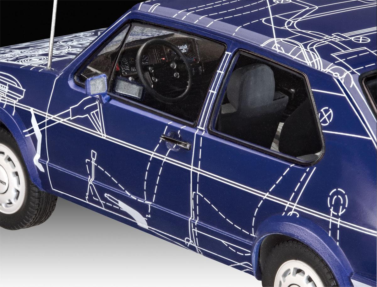 "Model Set VW Golf GTI ""Builders Choice"" - 1/24 - Revell 67673  - BLIMPS COMÉRCIO ELETRÔNICO"