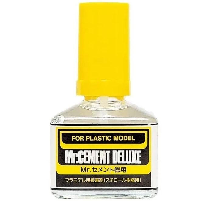 Mr.Cement Deluxe (cola líquida) - Mr.Hobby MC127  - BLIMPS COMÉRCIO ELETRÔNICO