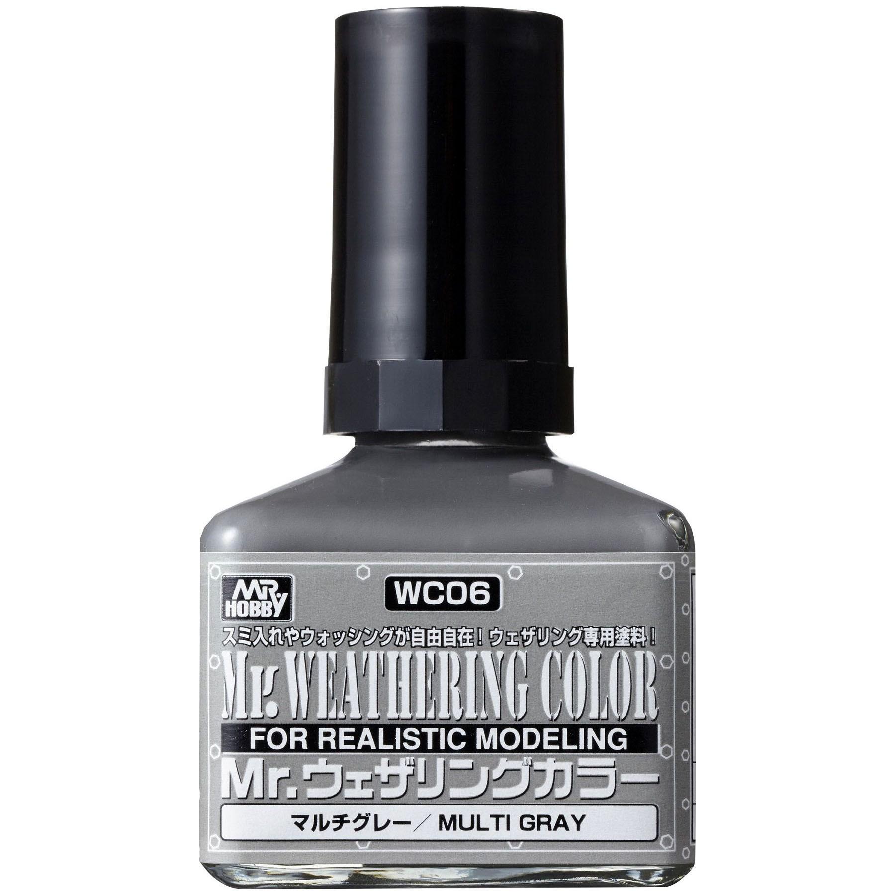 Mr.Weathering Color Multi Gray - Mr.Hobby WC06  - BLIMPS COMÉRCIO ELETRÔNICO