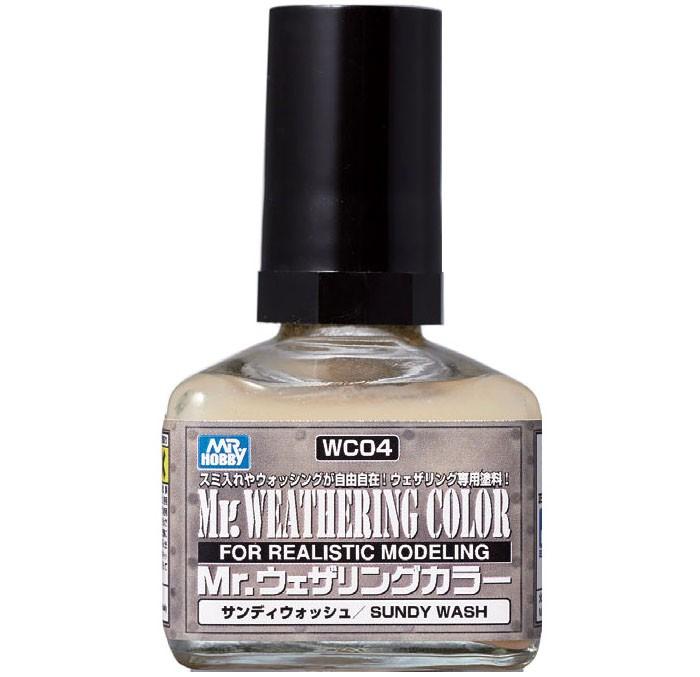Mr.Weathering Color Sandy Wash - Mr.Hobby WC04  - BLIMPS COMÉRCIO ELETRÔNICO