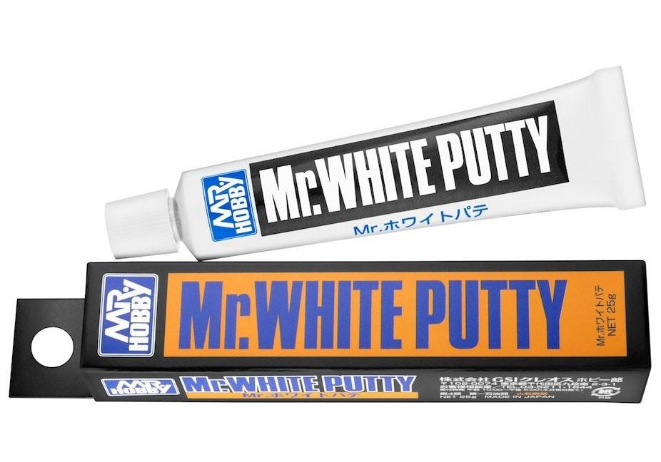 Mr.White Putty - Mr.Hobby P118  - BLIMPS COMÉRCIO ELETRÔNICO