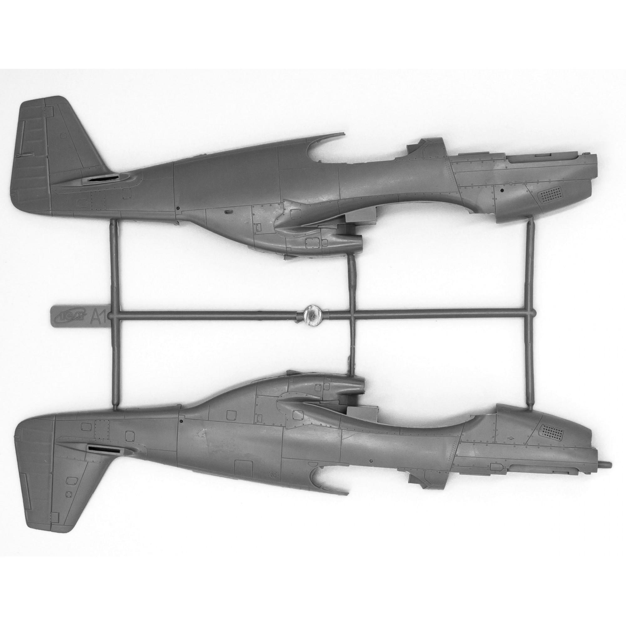 Mustang P-51C -  1/48 - ICM 48121  - BLIMPS COMÉRCIO ELETRÔNICO