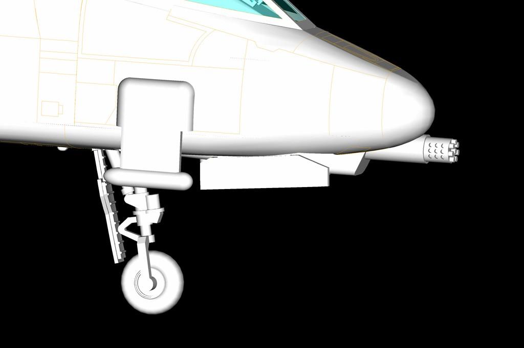 N/AW A-10A Thunderbolt II - 1/72 - HobbyBoss 80267  - BLIMPS COMÉRCIO ELETRÔNICO