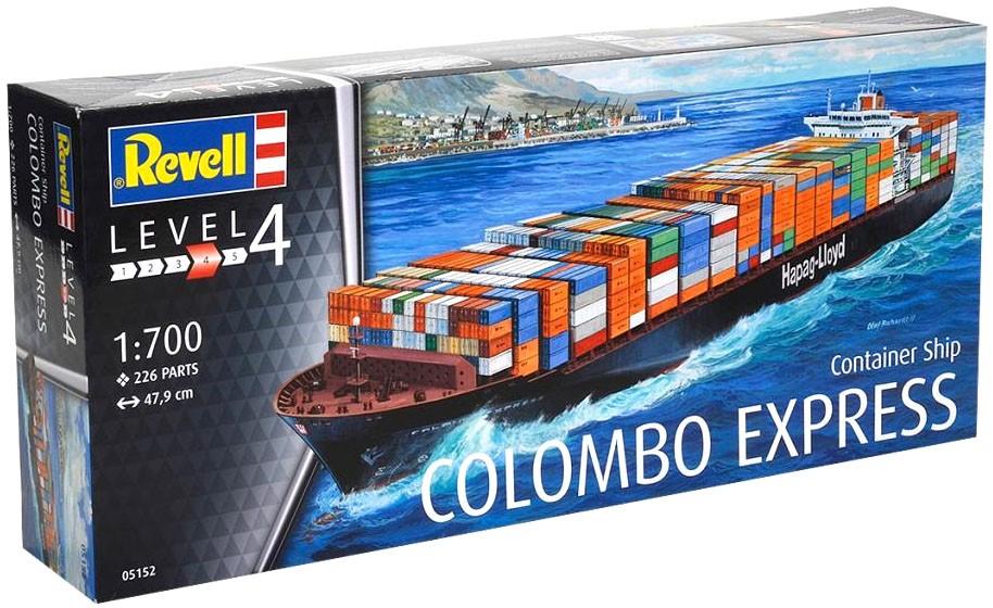 Navio Container Colombo Express - 1/700 - Revell 05152  - BLIMPS COMÉRCIO ELETRÔNICO