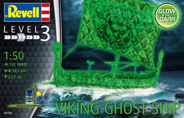 Gift Set Navio Fantasma Viking - 1/50 - Revell 05428  - BLIMPS COMÉRCIO ELETRÔNICO