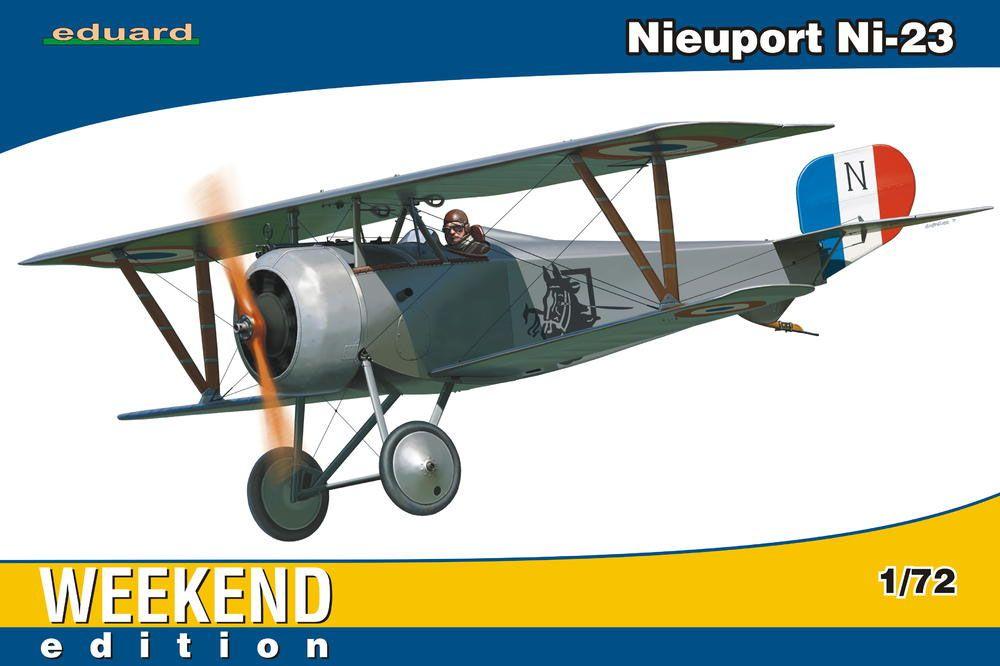 Nieuport Ni-23 - 1/72 - Eduard 7417  - BLIMPS COMÉRCIO ELETRÔNICO