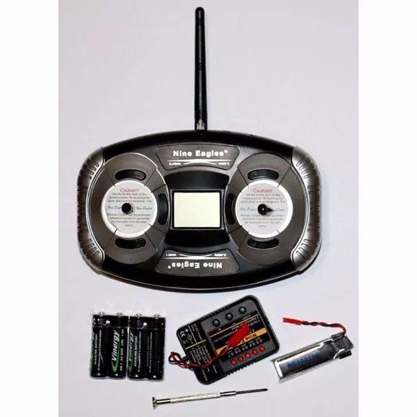 Nine Eagles Solo Pro 328 - com rádio de 4 canais - NES 3023282422  - BLIMPS COMÉRCIO ELETRÔNICO